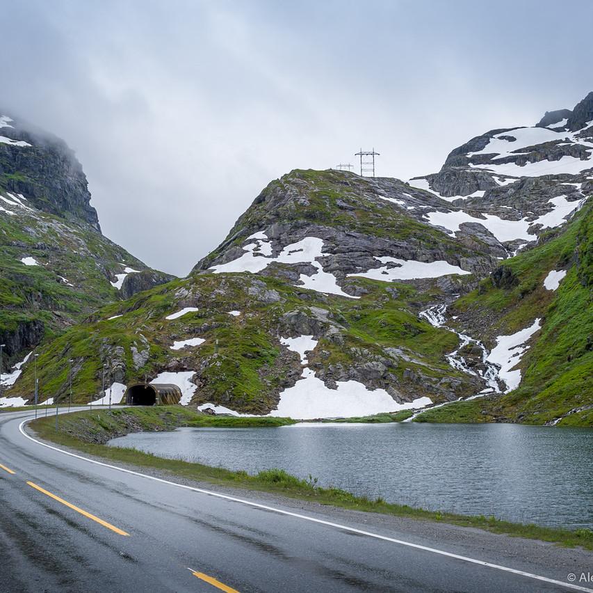Фотосъемка в горах Норвегии