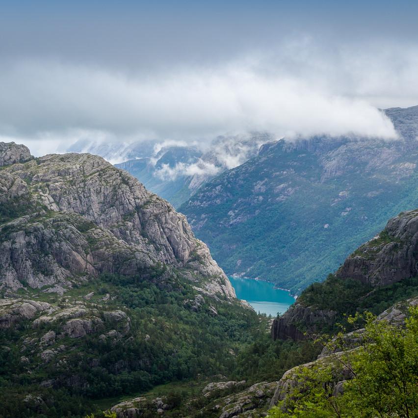 Пейзажная фотосъемка Норвегии