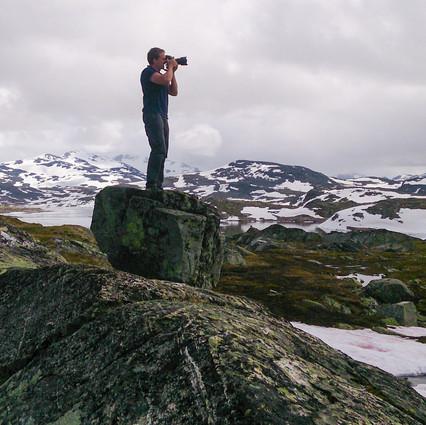 Фото: Горный перевал, Норвегия