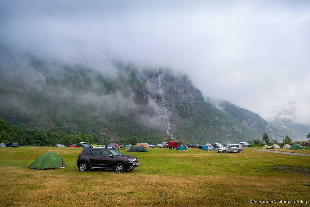 Фотосъемка путешествия в Норвегию