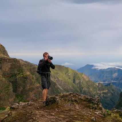 Трэвэл фотосъемка в горах Мадейры