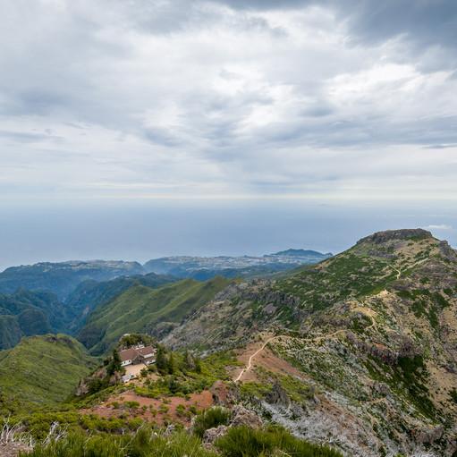 Фото: пейзаж с Pico Ruivo