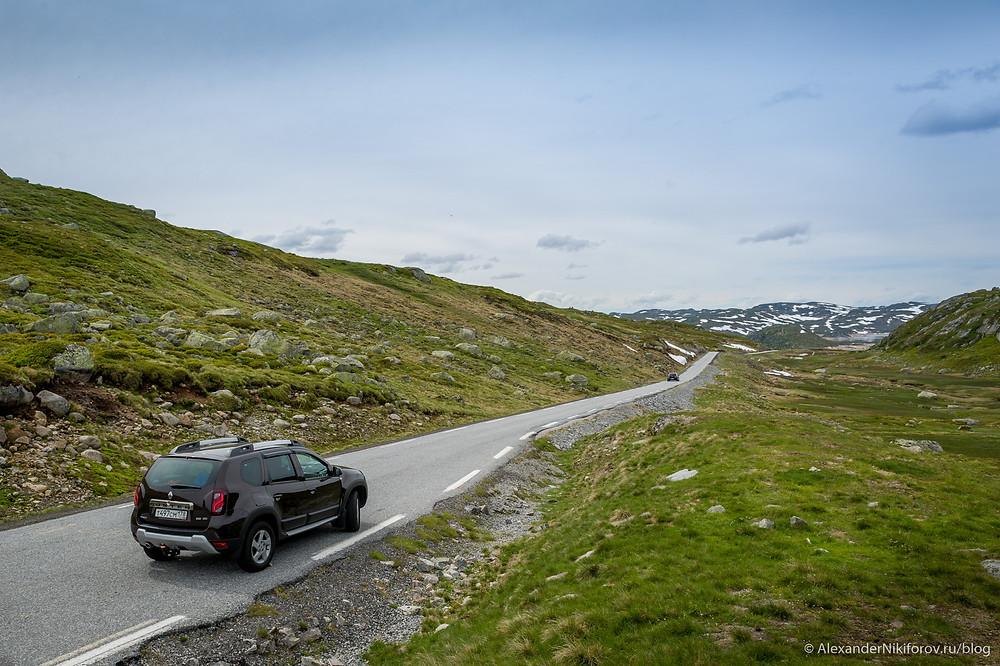 Фотосъмка в горах Норвегии