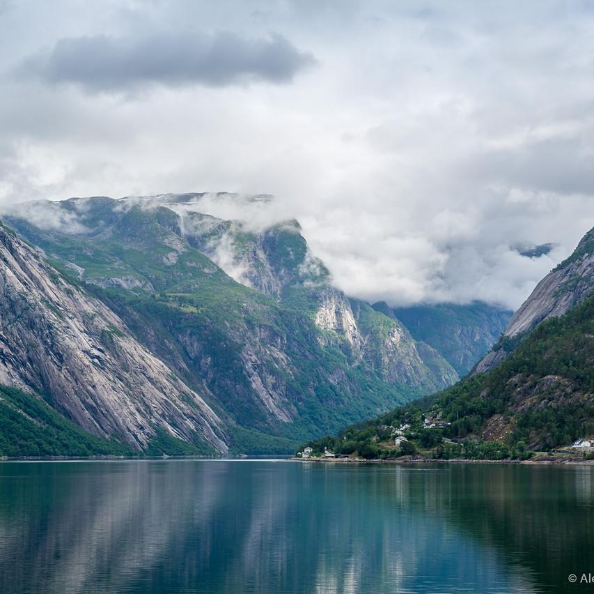 Фотография Эйдфьорда, Норвегия