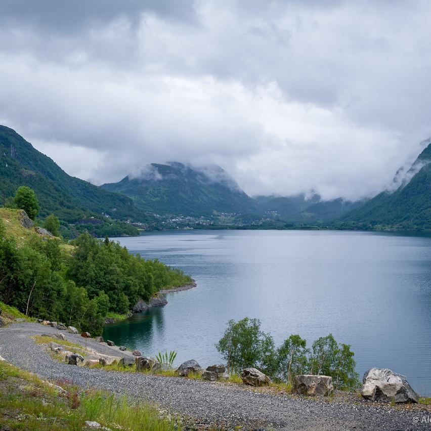 Travel фотография: фьорды Норвегии
