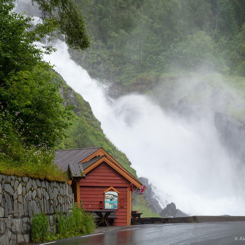 Фотосъемка водопада