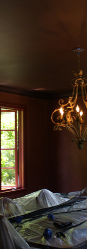 Custom Interior, stain grade windows, fa