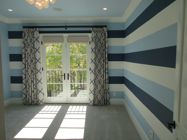 Home page- custom painted boy's bedroom
