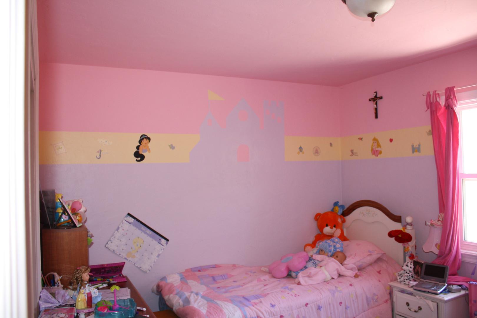 Custom painted girls bedroom.jpg
