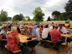 Brusacade chez Meduz pour la fête nationale Belge