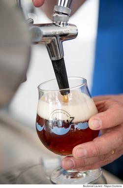 Bière ambré Meduz by Boutonnet Laurent - Region Oc