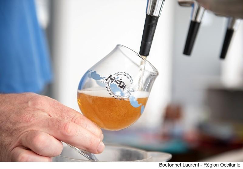 Bière blonde Meduz by_Boutonnet Laurent - Region Oc