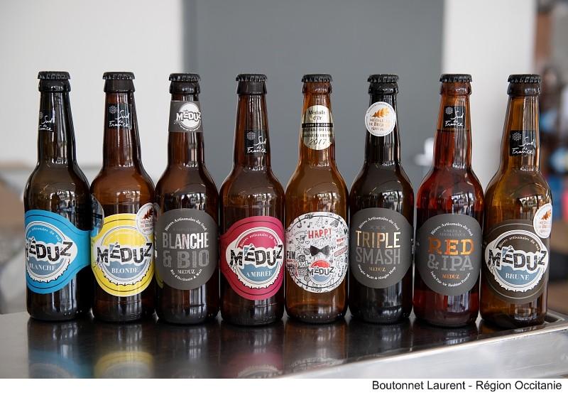 Nos bières Meduz by Boutonnet Laurent -