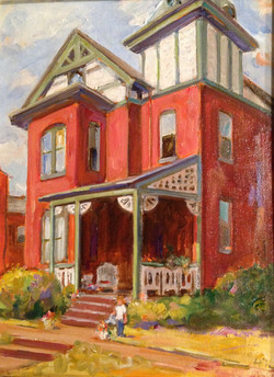 Painting House on Barnard St