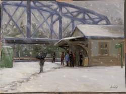 Whitford Station Snow