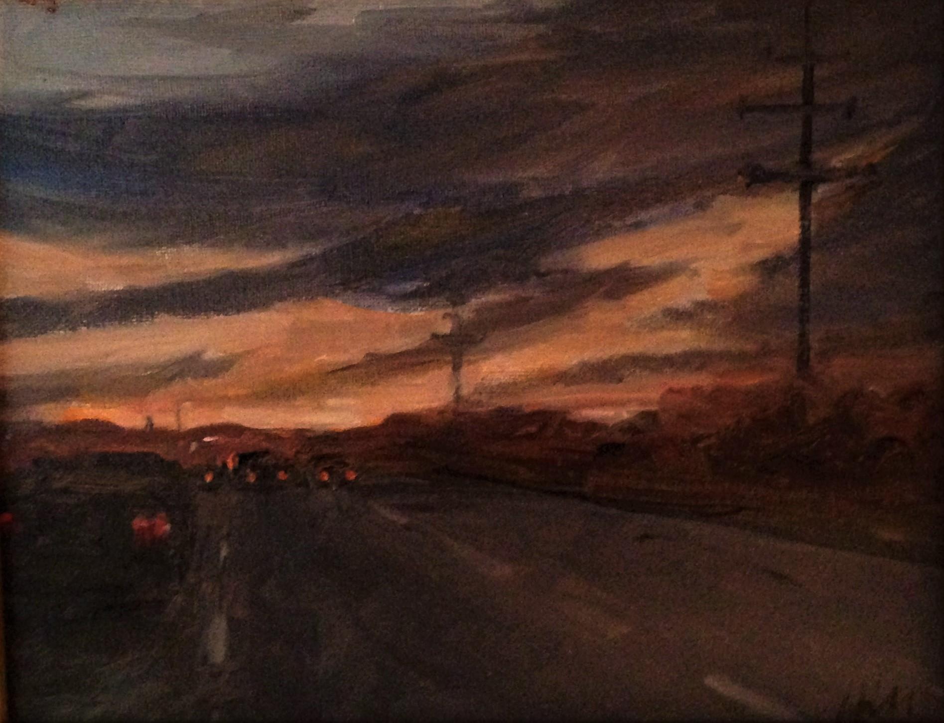 Penn Tpk Sunset