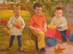 Three Grandchildren
