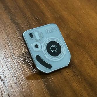 The Polaroid Mio Pin