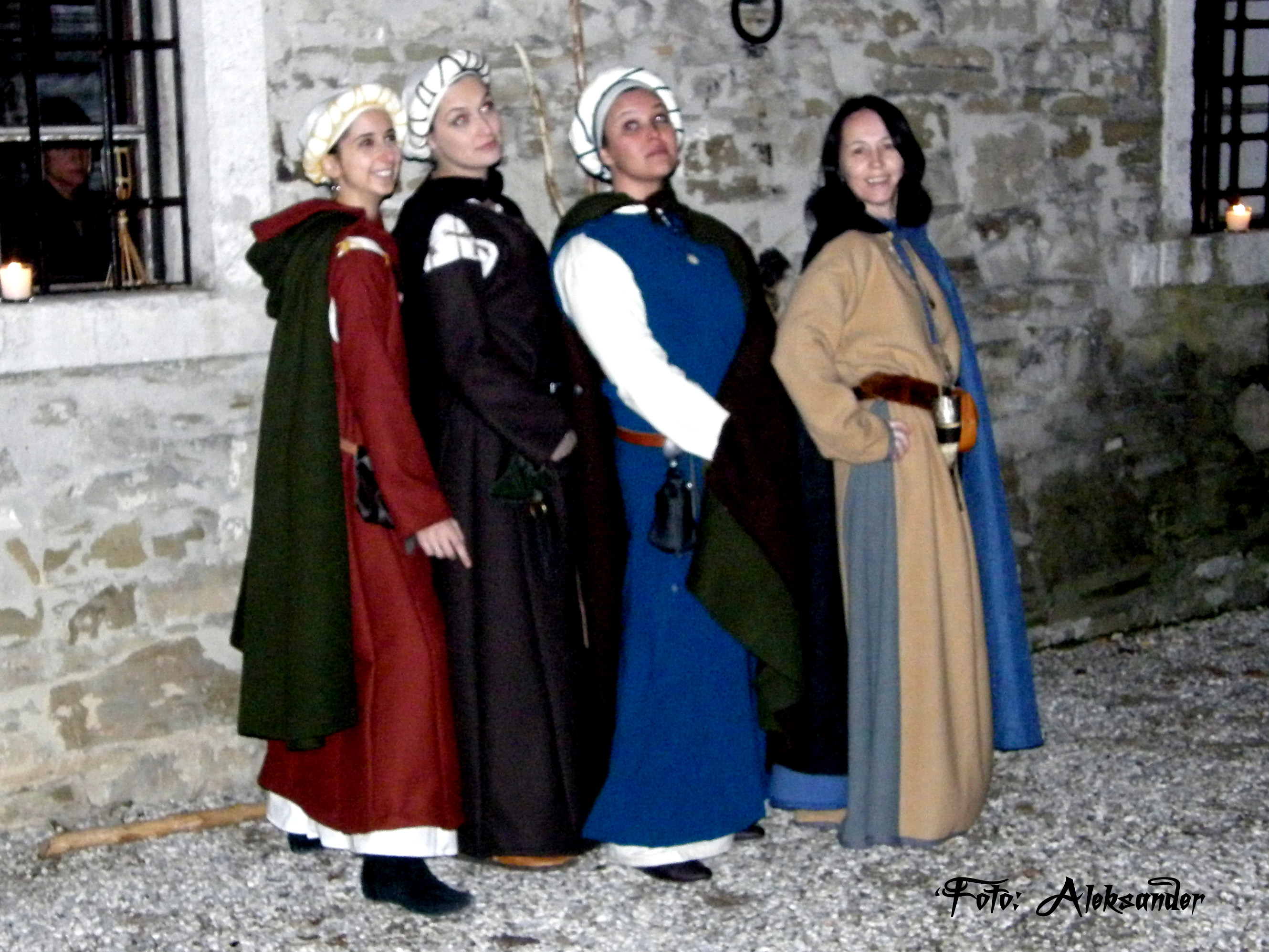 Cena medievale, srednjeveška večerja