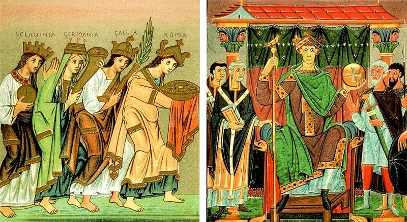 Evangeliar Otona III. se nahaja v Državn
