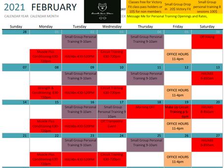 Feb Calendar!!