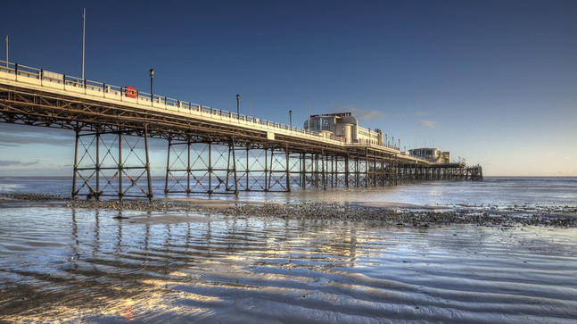 The amazing Art Deco Worthing Pier