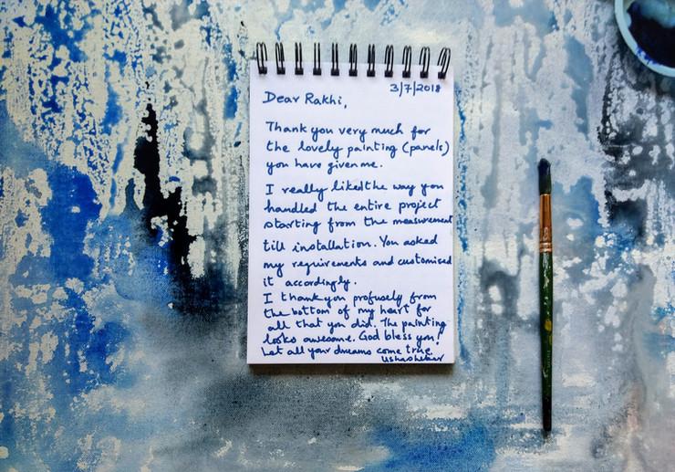 Testimonial from Mrs Usha Sekar