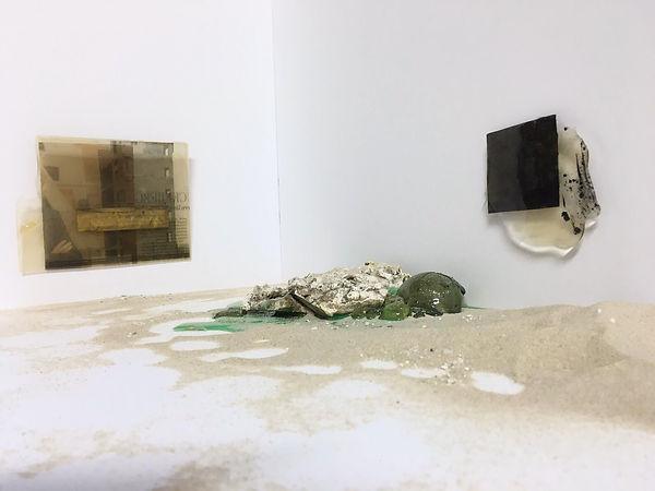 Ausstellungsansicht liquid dreams, 2020