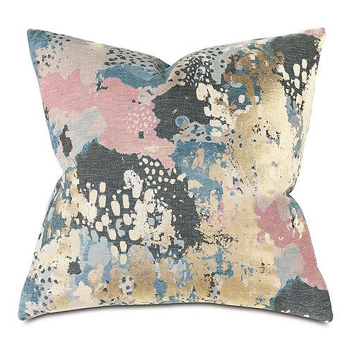Chalamet Metallic Decorative Pillow