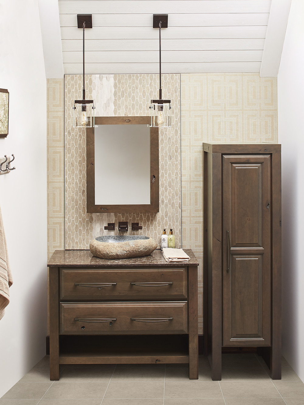 Powder Room By Wellborn Cabinetry