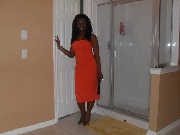 That's me in orange/coral a few years ago