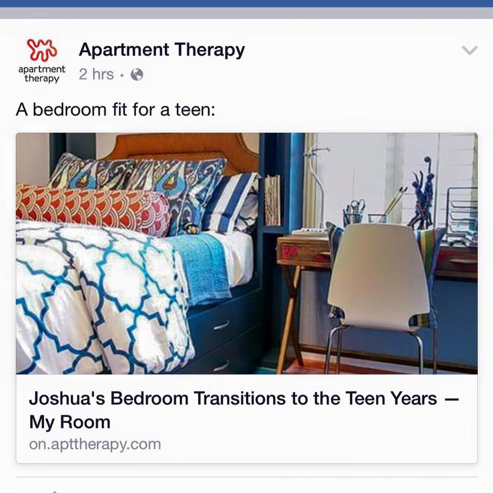 Via Apartment Therapy Facebook Page