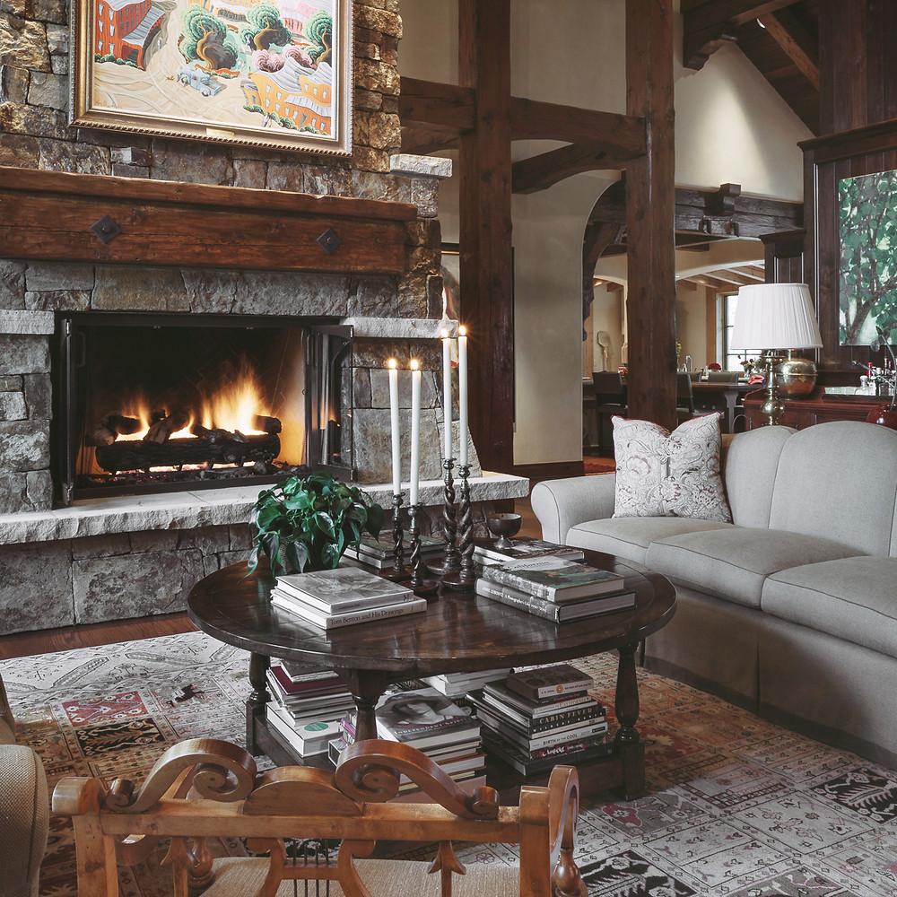 Modern lake house retreat designed by Tom Stringer