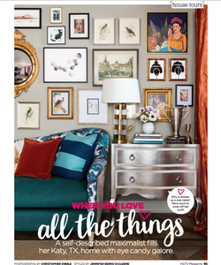 Feature Page From HGTV Magazine June 2020