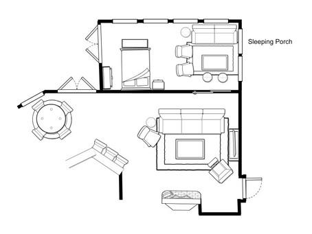 Design Ideas  For A Woodland Chic Sleeping Porch