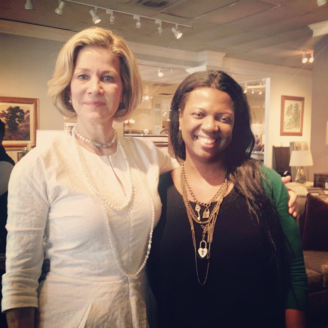 Barbara Westbrook & Veronica Solomon - Houston Design Center April 2015