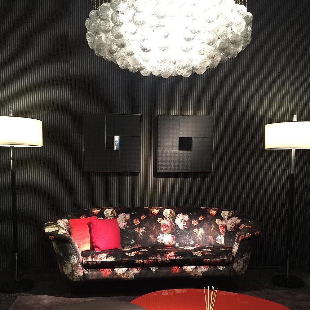 Living room vignette by JNL Ungaronat Maison and Objet Paris