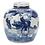 Thumbnail: Blue And White Mini Jar
