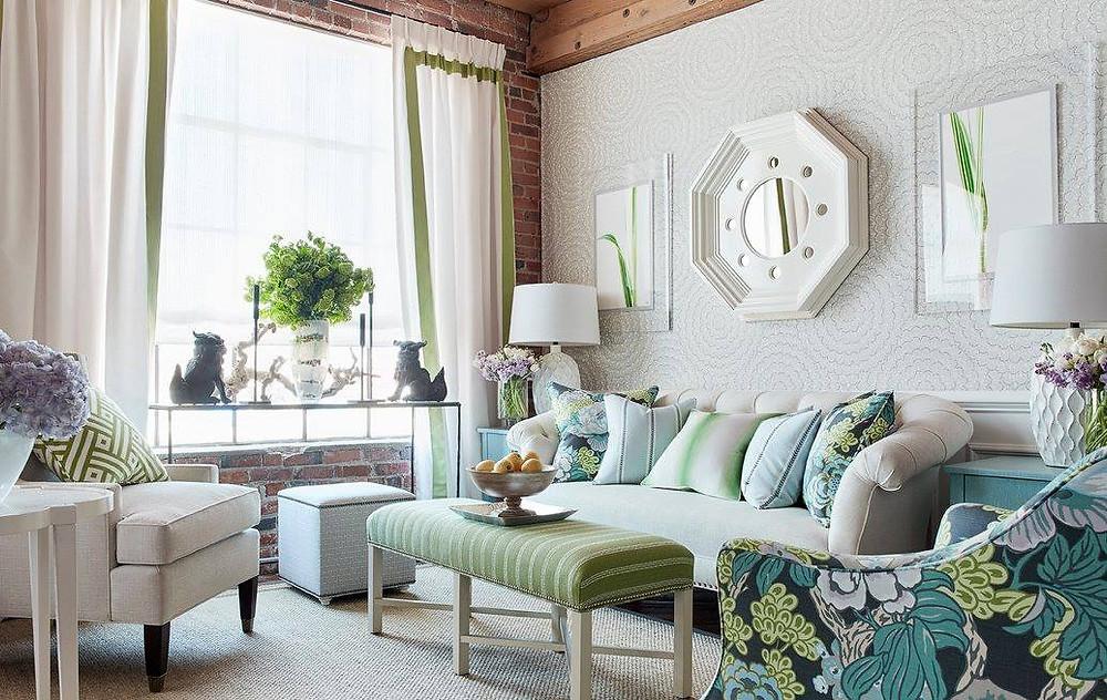 Thibaut Design living room