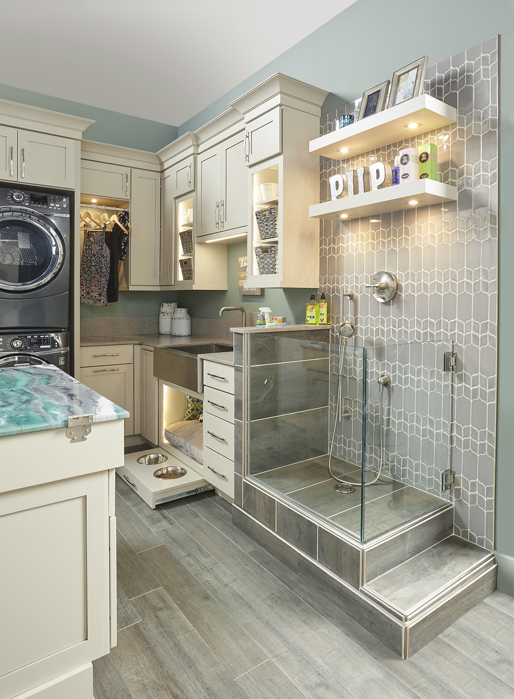 Wellborn Cabinetry Pet Spa