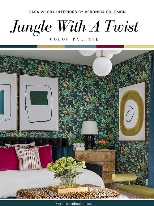 Color Palette - Jungle With A Twist