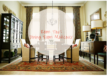 Room Tour: A Dining Room Makeover Mixing Old And New