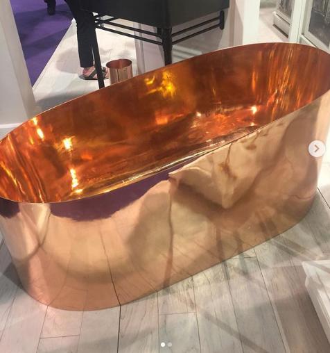 Thompson Traders Copper Bath Tub