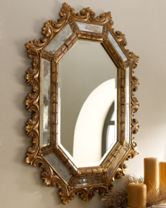 A traditional mirror