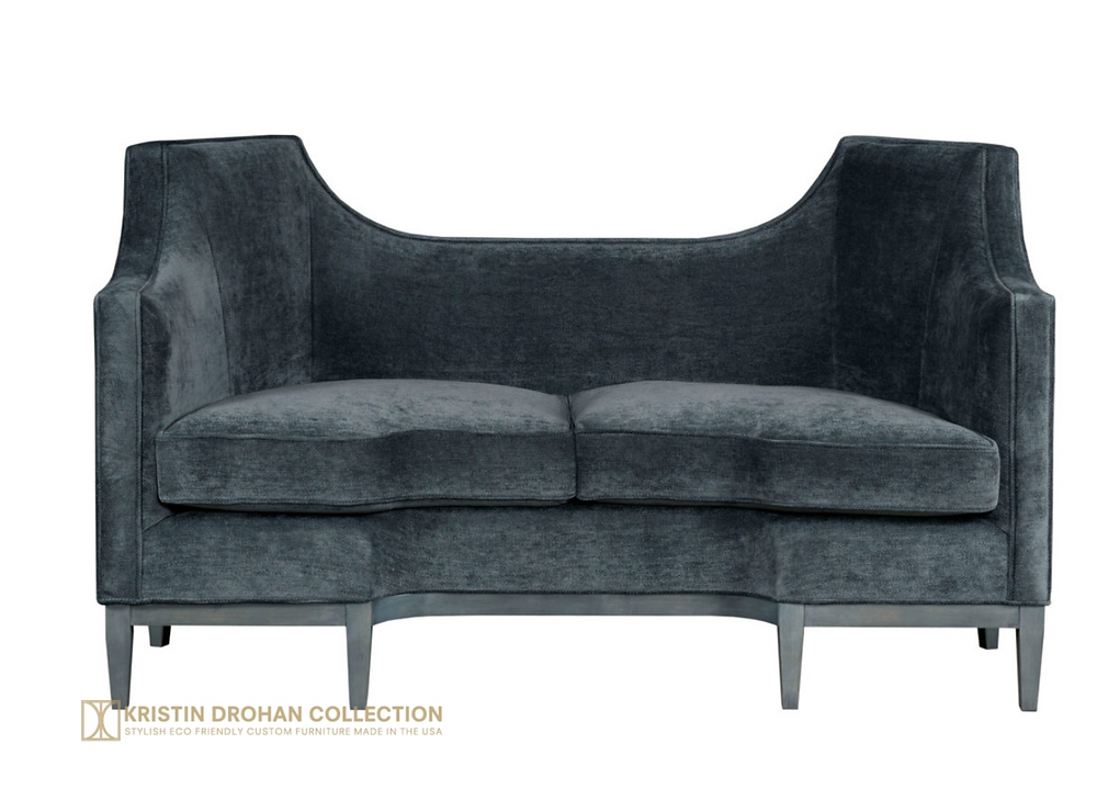 Hampton Settee By Kristin Drohan Collection
