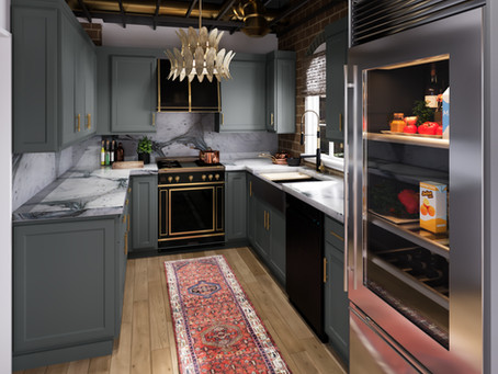 Virtual Design Session: Embracing The Bones Of A Classic Industrial Kitchen