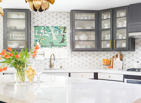 Before and After: A Builder Basic Kitchen Gets A Unique Makeover