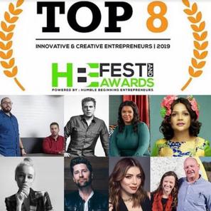Top 8 Innovative & Creative Entrepreneurs 2019