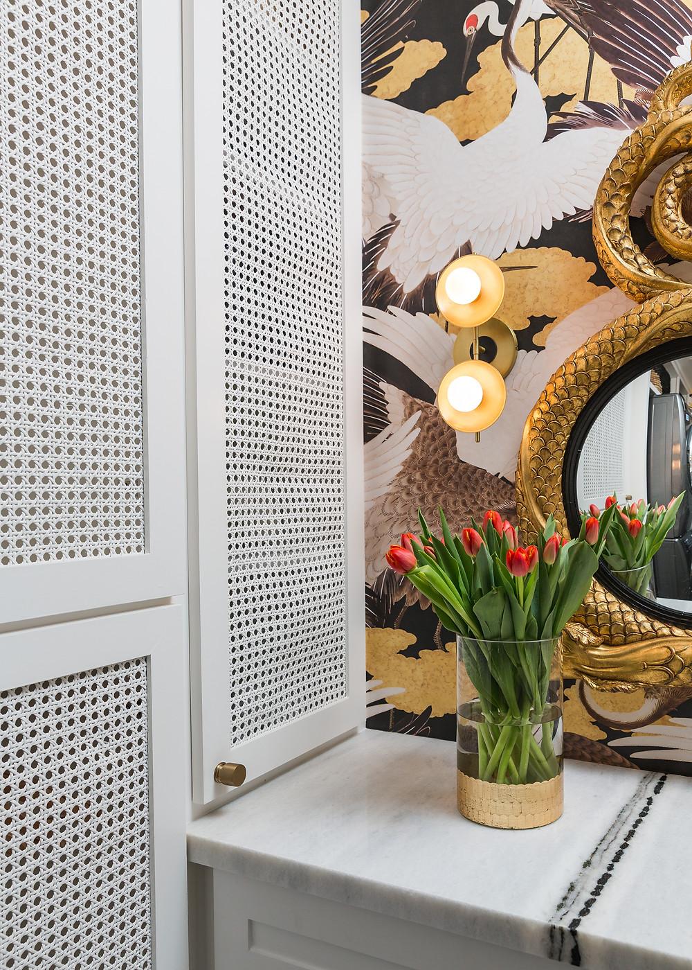 Door caning by Vandyke Restorers