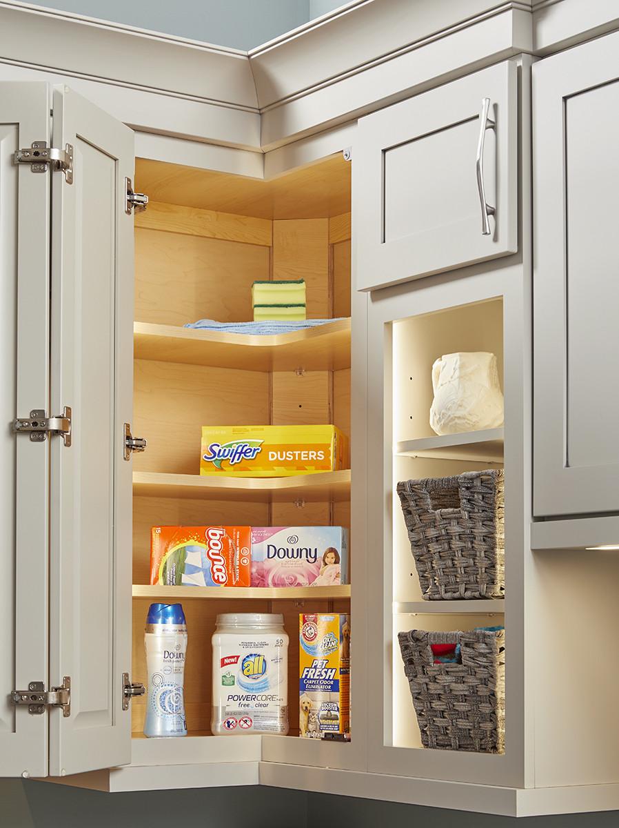 EZ Reach Corner Cabinets